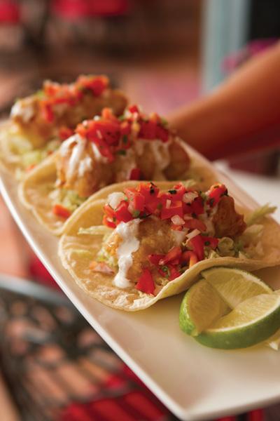 ClubM Fish Tacos