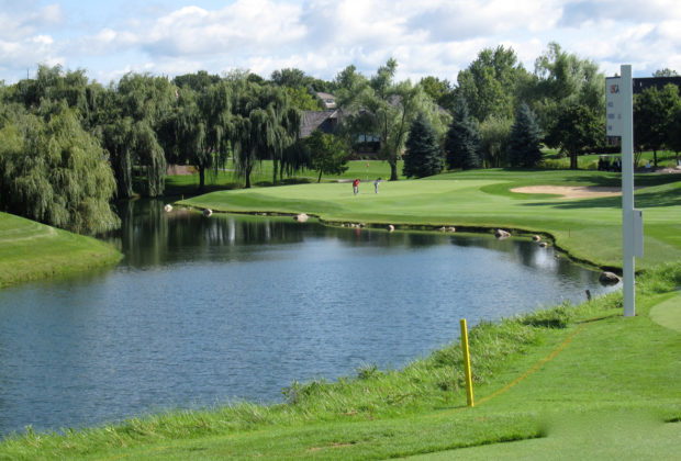 water-golf-course