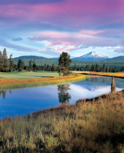 Sunriver Resort Crosswater 9th Hole