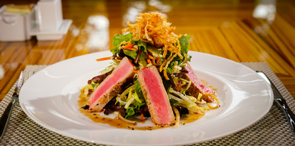 Journey's End Seared Ahi Salad