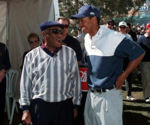 Charles Sifford_Tiger Woods 1998 Nissan Open