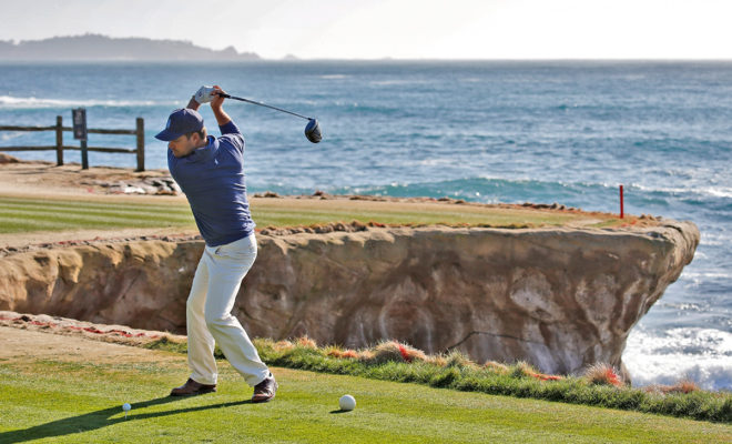 ChrisO'Donnell Teeing Off