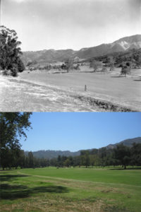 Griffith Hole 16 Then and Now