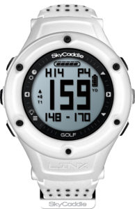 Linx White Watch Distance Finder