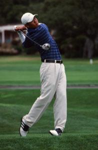 Roy Moon Golfing