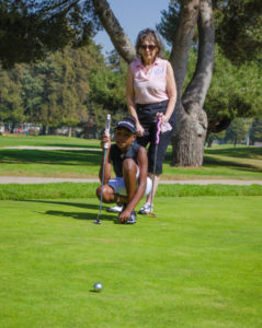 SCGA Junior Golfer on Green