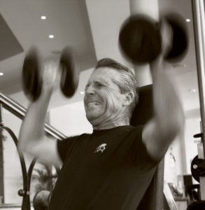 Gary Player Shoulder Press
