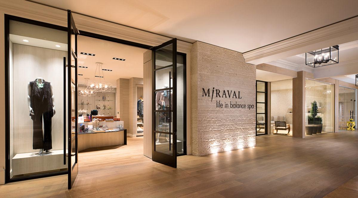 Miraval Spa Entrance