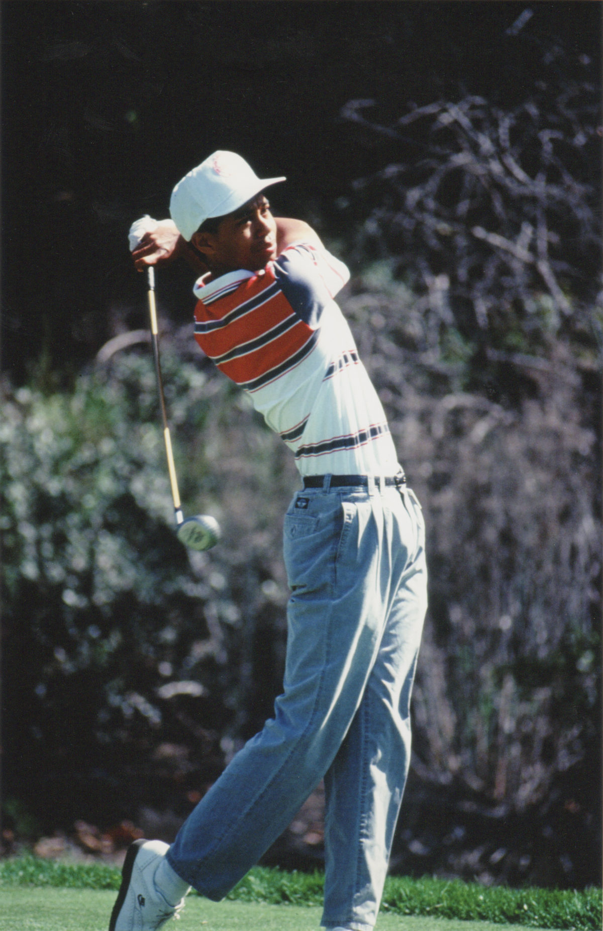 Tiger Woods first PGA tourney -1992
